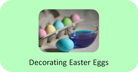 http://www.positivelyautism.com/downloads/Story_DecorateEggs.pdf