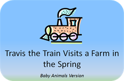 http://www.positivelyautism.com/downloads/Spring_StoryTrain1A.pdf