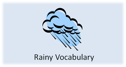 http://www.positivelyautism.com/downloads/RainyVocabulary.pdf