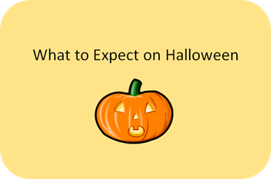 what to expect on halloween social skill story a story on passing out candy at home - Story About Halloween