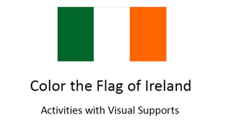 Color the Flag of Ireland